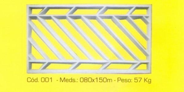 Grade de segurança modelo 001-B