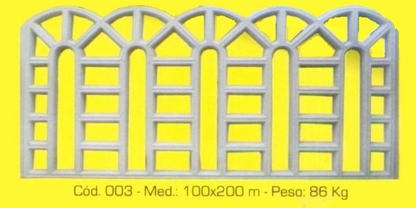 Grade de segurança modelo 003