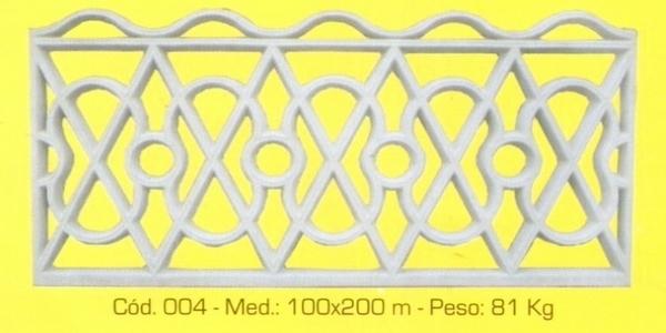 Grade de proteção modelo 004
