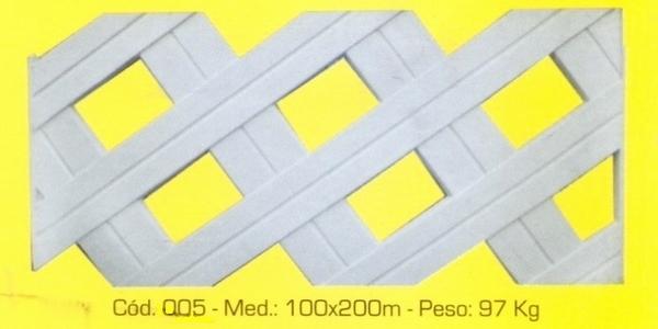 Grade de proteção em concreto modelo 005