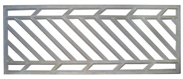 grade de concreto armado