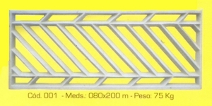 Grade de segurança modelo 001